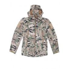 Куртка Софтшелл Softshell Tactical Gear, до -10С, цвет Mультикам (Multicam)