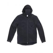 Куртка Софтшелл Softshell Tactical Gear, до -10С, цвет Черный (Black)