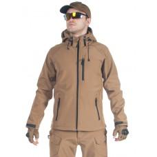 Куртка мужская тактическая софтшелл GONGTEX ASSAULT SOFTSHELL JACKET, цвет Койот (Coyote)