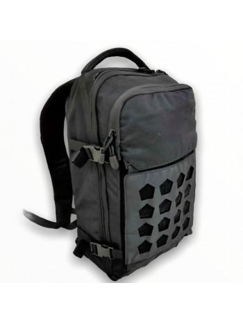 Рюкзак Тактический GONGTEX, 20 литров, арт. 00711 цвет Черный (Black)