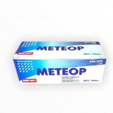 Солевая батарейка Метеор 1.5V, R03, AAA Size (уп. 60 шт)