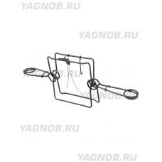 Капкан проходной КП-320, гуманный, разрешен для промысла в РФ (на бобра, лисицу, енота, барсука)
